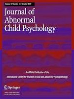 Journal of Abnormal Child Psychology 10/2019