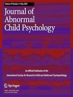 Journal of Abnormal Child Psychology 5/2019