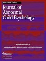 Journal of Abnormal Child Psychology 7/2019