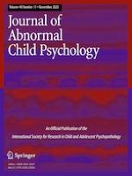 Journal of Abnormal Child Psychology 11/2020