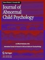 Journal of Abnormal Child Psychology 12/2020