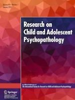 Research on Child and Adolescent Psychopathology 1/2021