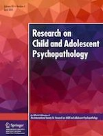 Research on Child and Adolescent Psychopathology 4/2021
