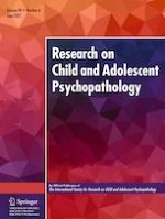 Research on Child and Adolescent Psychopathology 6/2021