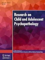 Research on Child and Adolescent Psychopathology 7/2021