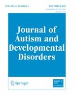 Journal of Autism and Developmental Disorders 6/2005