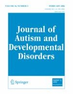 Journal of Autism and Developmental Disorders 2/2006