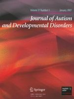 Journal of Autism and Developmental Disorders 1/2007