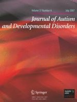Journal of Autism and Developmental Disorders 6/2007