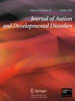 Journal of Autism and Developmental Disorders 10/2009