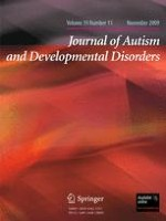 Journal of Autism and Developmental Disorders 11/2009