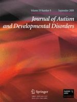 Journal of Autism and Developmental Disorders 9/2009