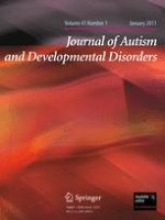 Journal of Autism and Developmental Disorders 1/2011