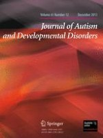Journal of Autism and Developmental Disorders 12/2011