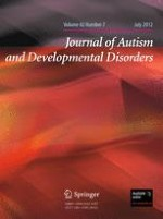 Journal of Autism and Developmental Disorders 7/2012