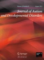 Journal of Autism and Developmental Disorders 8/2013
