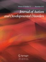 Journal of Autism and Developmental Disorders 11/2015