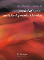 Journal of Autism and Developmental Disorders 9/2015