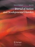 Journal of Autism and Developmental Disorders 6/2016