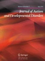 Journal of Autism and Developmental Disorders 7/2018
