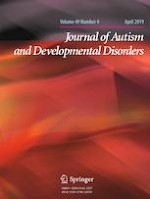 Journal of Autism and Developmental Disorders 4/2019