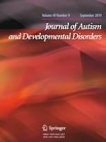 Journal of Autism and Developmental Disorders 9/2019