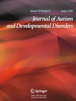 Journal of Autism and Developmental Disorders 8/2020