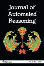 Journal of Automated Reasoning 1/2005