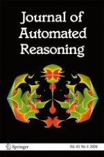 Journal of Automated Reasoning 4/2009
