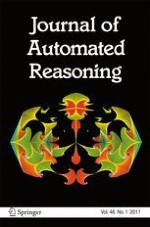 Journal of Automated Reasoning 1/2011