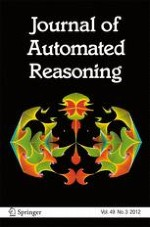 Journal of Automated Reasoning 3/2012