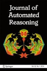 Journal of Automated Reasoning 1/2014