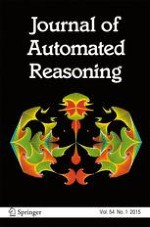 Journal of Automated Reasoning 1/2015