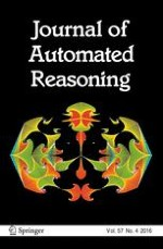 Journal of Automated Reasoning 4/2016