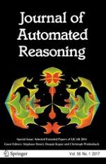 Journal of Automated Reasoning 1/2017