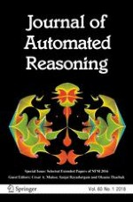 Journal of Automated Reasoning 1/2018