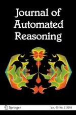Journal of Automated Reasoning 2/2018