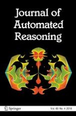 Journal of Automated Reasoning 4/2018