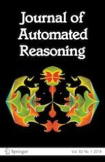 Journal of Automated Reasoning 1/2019