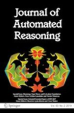Journal of Automated Reasoning 2/2019