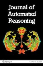 Journal of Automated Reasoning 3/2019