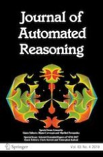 Journal of Automated Reasoning 4/2019