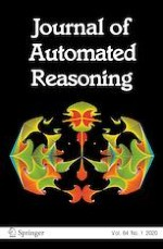 Journal of Automated Reasoning 1/2020