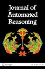 Journal of Automated Reasoning 2/2020