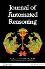 Journal of Automated Reasoning 5/2020