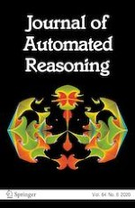 Journal of Automated Reasoning 6/2020