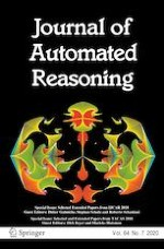 Journal of Automated Reasoning 7/2020