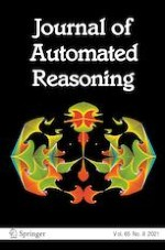 Journal of Automated Reasoning 8/2021