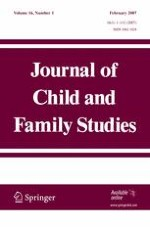Journal of Child and Family Studies 1/2007