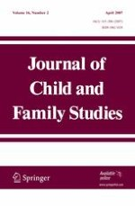 Journal of Child and Family Studies 2/2007